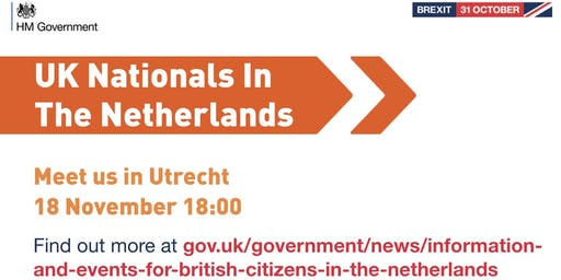 UK Nationals Outreach Event - Utrecht
