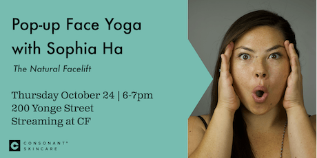 Pop-up Face Yoga Class with Sophia Ha tickets