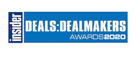 Scottish Business Insider Deals & Dealmakers Awards 2020 tickets