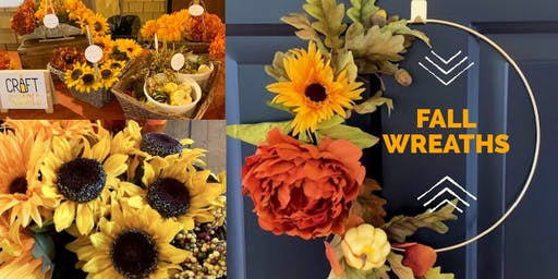 Fall Wreaths with Craft Squared