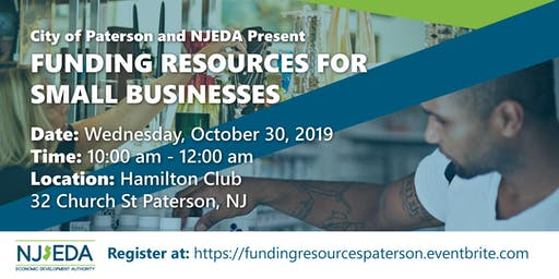 Paterson Funding Resources for Small Businesses