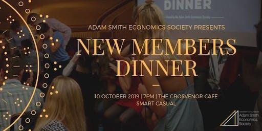 New Members Dinner