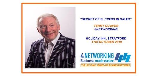 SECRET OF SUCCESS IN SALES