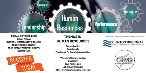 October Manufacturing Roundtable - Trends in Human Resources