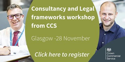 CCS Consultancy and Legal frameworks workshop - Glasgow