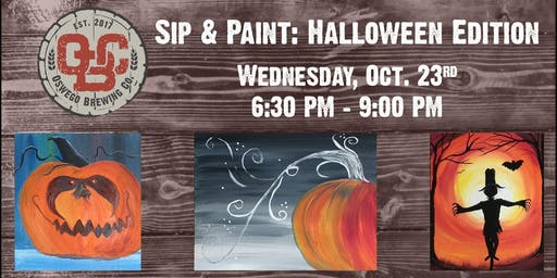 Sip & Paint: Halloween Edition