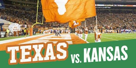Texas Exes- Texas vs. Kansas Tailgate tickets