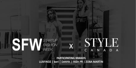 Startup Fashion Week™   x  STYLE CANADA Popup at STACKT Market - Day 1 tickets
