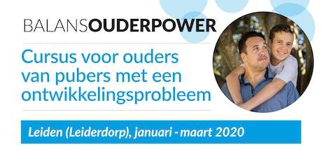 BalansOuderpower, cursus in Leiden (Leiderdorp) tickets