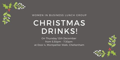 Women in Business Lunch - Christmas drinks tickets