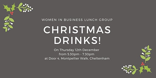 Women in Business Lunch - Christmas drinks