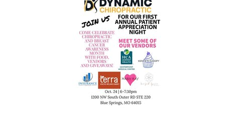 First Annual Patient Appreciation Event tickets
