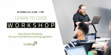Learn to Code Workshop- Data Science tickets