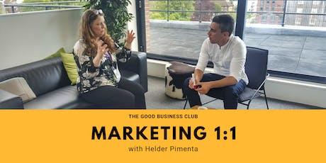 Good Business Marketing 1:1 with Helder Pimenta tickets