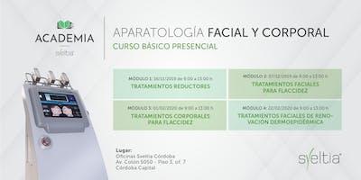 Curso de Aparatología Facial y Corporal