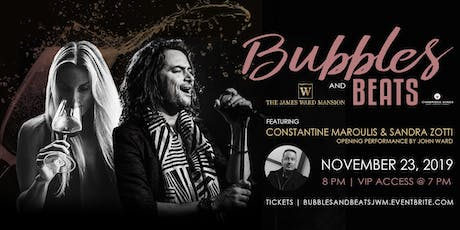 Bubbles & Beats with Constantine Maroulis and Sandra Zotti tickets