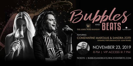 Bubbles & Beats with Constantine Maroulis and Sandra Zotti