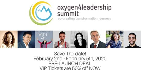 The oxygen4leadership Summit 2020 tickets