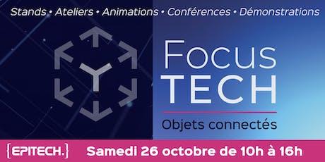 FocusTECH - Objets connectés et robotique billets