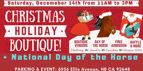 Christmas Holiday Boutique tickets
