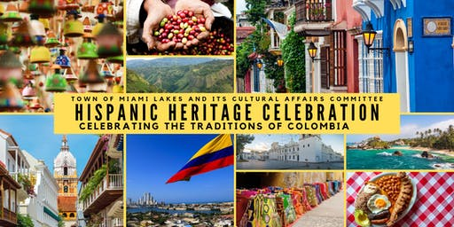 """Traditions of Colombia"" Hispanic Heritage Celebration"