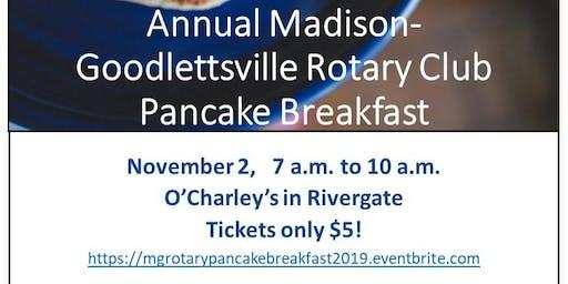Annual Madison-Goodlettsville Rotary Club Pancake Breakfast