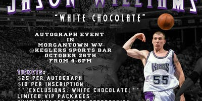 NBA Champion Jason Williams Autograph Event