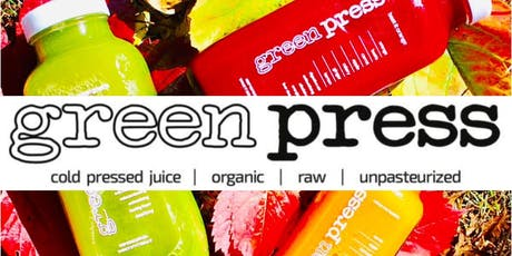 Free Wellness Talk w/ Green Press Juice tickets
