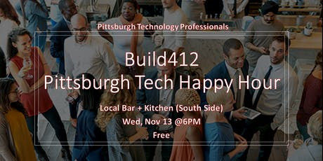 Pittsburgh's Tech Happy Hour - November tickets