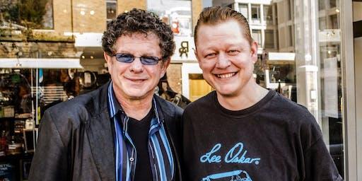 Lee Oskar with Steve Lockwood - Harmonica Event at Millers Music