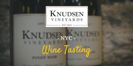Knudsen Vineyards 5th Annual NYC Wine Tasting tickets