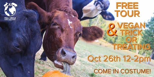 Free Tour & Vegan Trick Or Treating! (Kids - come in costume!)