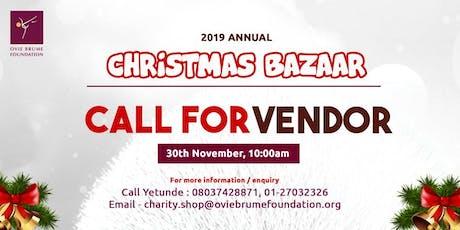 Ovie Brume Foundation Bazaar tickets