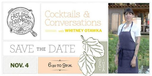 Cocktails & Conversations: Whitney Otawka discusses The Saltwater Table