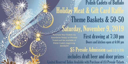 Polish Cadets Holiday Meat and Gift Card Raffle