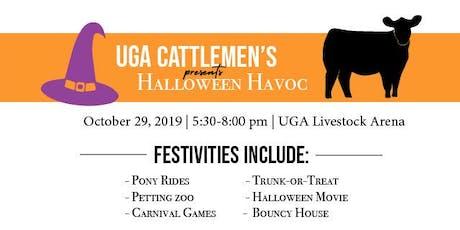 UGA Cattlemen's Association: Halloween Havoc tickets