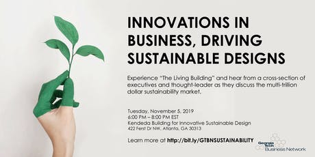 Innovations in Business, Driving Sustainable Designs tickets