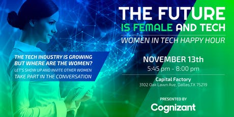 The Future is Female and Tech tickets