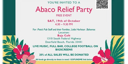 Abaco Relief Event