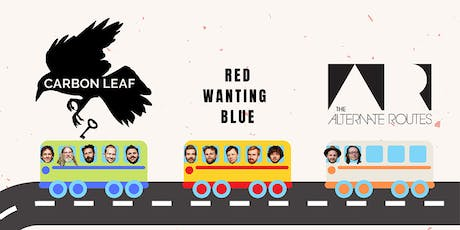 CARBON LEAF / Red Wanting Blue / The Alternate Routes tickets