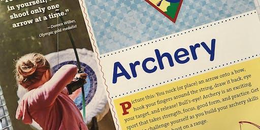 Girl Scout Archery Workshop -- Juniors, Cadettes, Ambassadors & Seniors