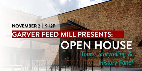 Garver's Open House - Tours, Storytelling & History Panel tickets