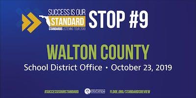Standards Listening Tour in Walton County