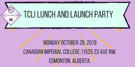 TCLI Lunch and Launch tickets