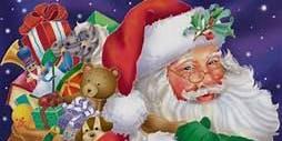 Kid Christmas Cookie Decorating with Santa!