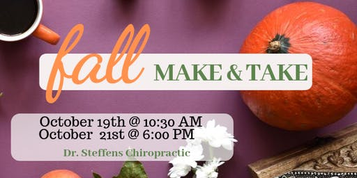 Fall Immune Boosting Workshop