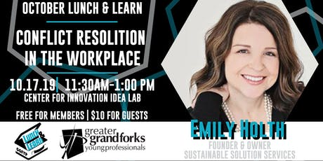 October Lunch & Learn: Conflict Resolution in the Workplace tickets