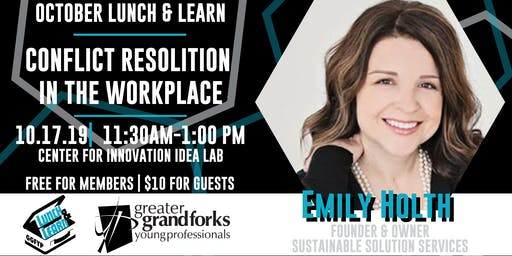 October Lunch & Learn: Conflict Resolution in the Workplace