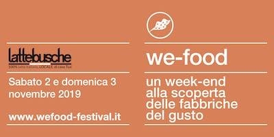 We-Food 2019 @ Lattebusche Camazzole (Carmignano)