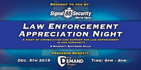 Law Enforcement Appreciation Night tickets